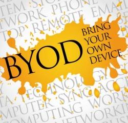 Quais são os maiores desafios encontrados pela política BYOD no setor de saúde?